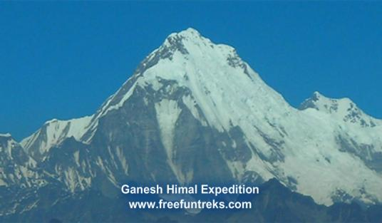 40 Days Ganesh Himal Expedition 7401m
