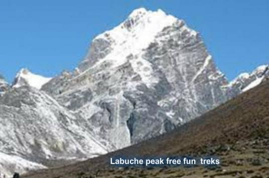 23 Days Lobuche Peak Climbing