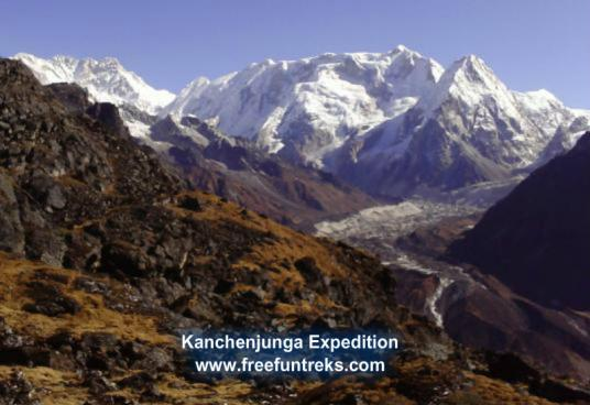 8586m Kanchenjunga Expedition