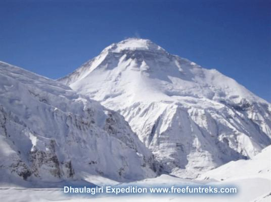45 Days Dhaulagiri Expedition 8176m